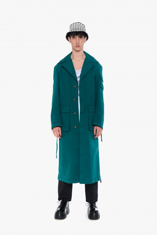 Man trench coat in...