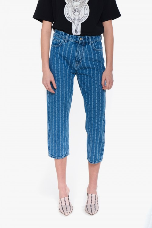 Capri woman denim pants...