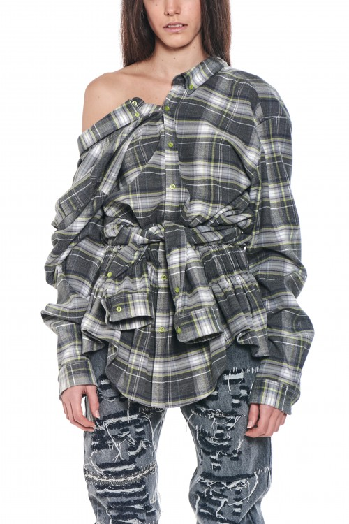 Double flannel shirt